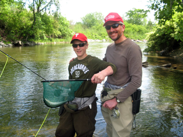 Fly fishing guide vermont new york peter basta guide service for Trout fishing ny