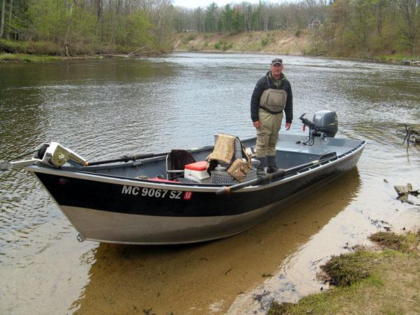 Steelhead Fishing on Muskegon River, Michigan - Vermont Fly